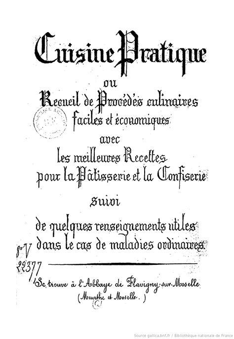 recette de la cuisine recettes ouvrages recueils de cuisine du xviième et