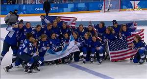 Team USA Women's hockey win gold, first time since 1998