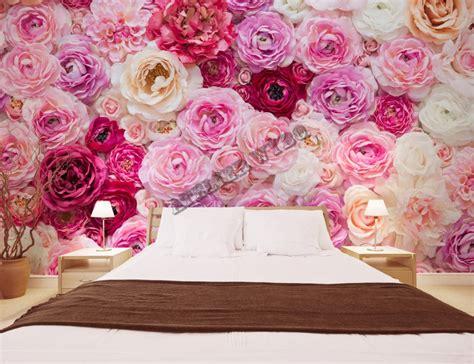 Tapisserie Fleurs papier peint romantique fleurs