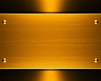 Gold Background Golden Plate Steel Colour Backgrounds