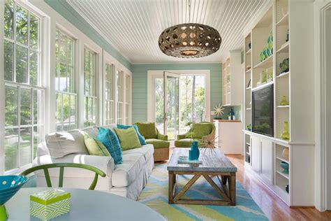Create Blue White Sunroom by White Sunroom Sunroom Traditional With Blue And White Sofa