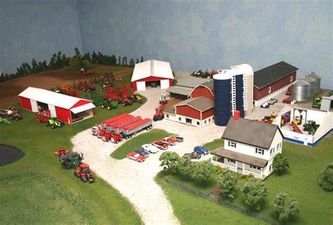 biggest display farm  ttt customs display journals toy farm toys farm layout