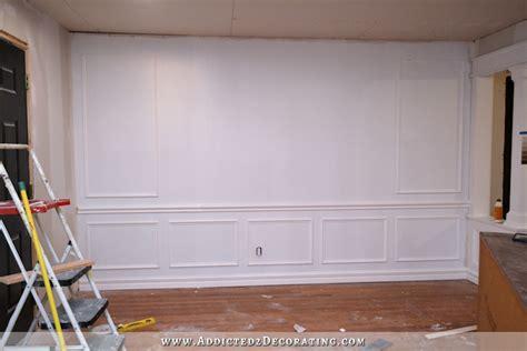 entryway wall progress