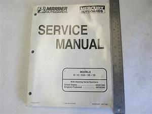 1998 Mercury Mariner Outboard Service Manual 6