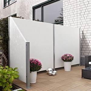 Sichtschutz Terrasse Kunststoff : sichtschutzwand kunststoff geflecht wei sichtschutz ~ Whattoseeinmadrid.com Haus und Dekorationen