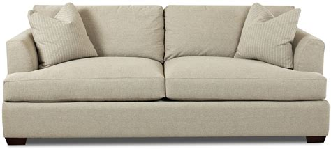 Bentley Sofas by Klaussner Bentley Contemporary Sofa With Flared Track Arms