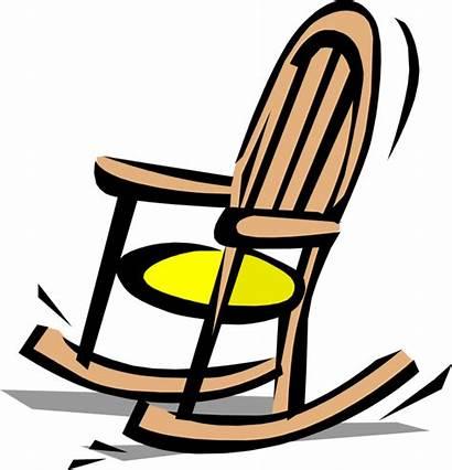 Rocking Chair Clipart Animated Schaukelstuhl Transparent Chairs