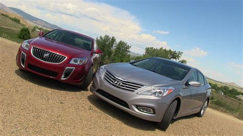 vauxhall buick 2012 buick regal gs vs hyundai azera mile high mashup review