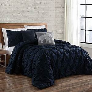 buy brooklyn loom jackson pleat king mini comforter set in With brooklyn bedding king