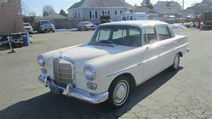 1966 Mercedes 230 4 Door Manual 4 Speed Transmission