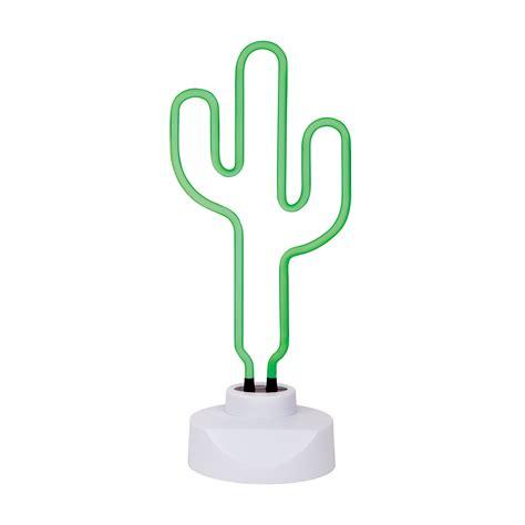 leo sunnylife cactus neon light large