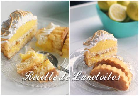 amour de cuisine tarte au citron tartelettes renversées au lemon curd meringuées amour de