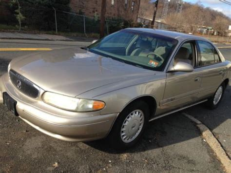 Find Used 1997 Buick Century Custom 4dr Gold In Paterson