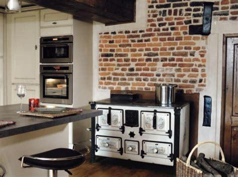 cuisine brique décoration cuisine brique