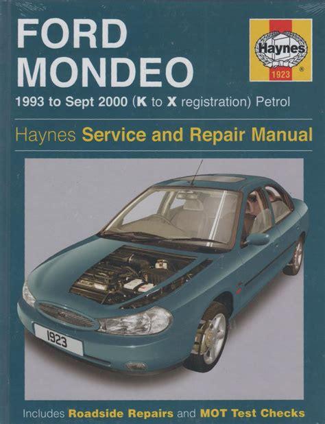 ford manual mondeo workshop software