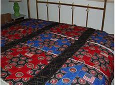 Marine Corps Theme Quilt