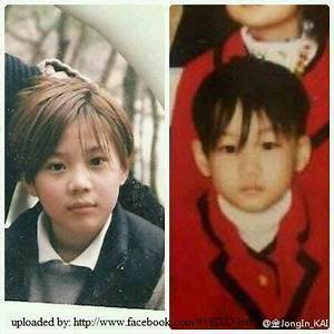 Pix For > Exo Baby Picture from left to right Taemin Kai ...