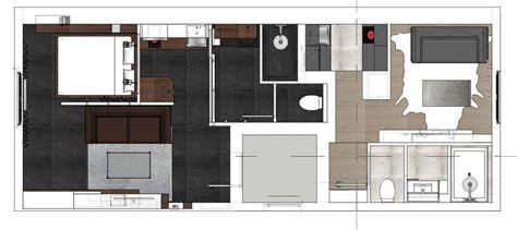 cuisine de aaz réalisation de deux studios dans un appartement grenoble
