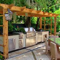 outdoor kitchen plans 30 Outdoor Kitchens and Grilling Stations