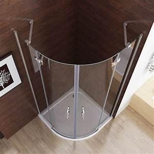 Viertelkreis Duschkabine 80x80 : duschkabine viertelkreis 80x80 90x90 runddusche ~ Watch28wear.com Haus und Dekorationen