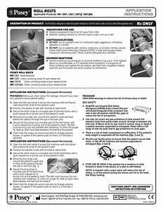 Posey Roll Belt User Manual