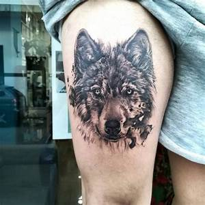 Symbole Du Loup : 143 tatouages de loup et leur signification ~ Melissatoandfro.com Idées de Décoration