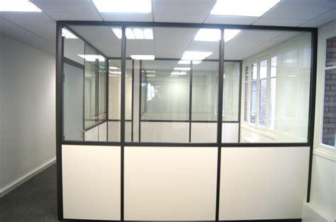 am駭agement des bureaux beau cloison de bureau semi vitrée vkriieitiv com