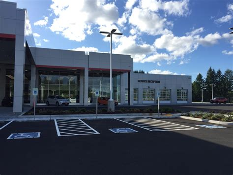 Olympia Toyota by Experience Upgraded Amenities At The New Toyota Of Olympia