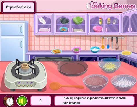 jeux de cuisine lasagne jouer 224 lasagne jeux gratuits en ligne avec jeux org