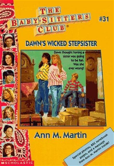 dawns wicked stepsister  ann  martin