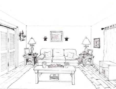 draw   point perspective bedroom image gallery