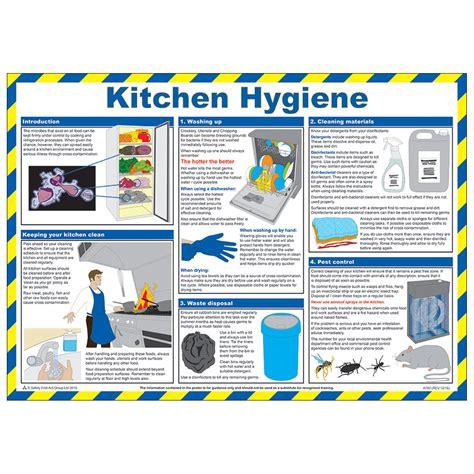 hygiene poster  kitchen hygiene poster