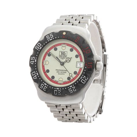tag heuer formula 1 s 1990 s w4660 second