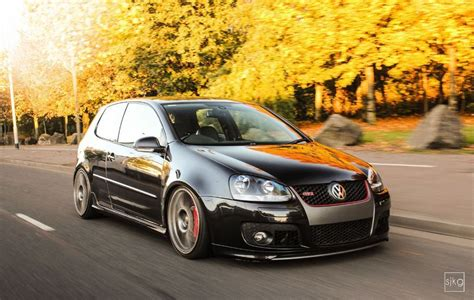 volkswagen golf modified modified black golf gti mk5 google search vw