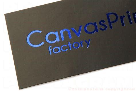 hot stamped business cards spot foiled printagram