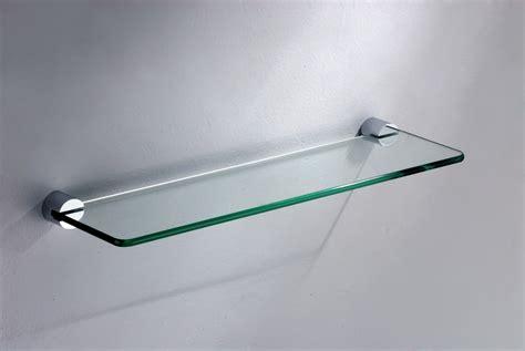 wall mounted glass shelf bathroom accessories glass shelf