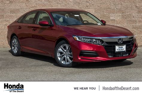 2018 Honda Accord Lx by New 2018 Honda Accord Lx 4d Sedan In Cathedral City