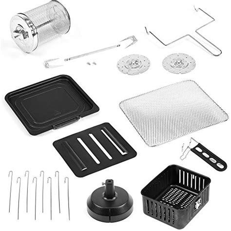 fryer air power oven elite qt rotisserie dehydrator cooking fryers xl accessories features professional parts plus accessory kit amazon