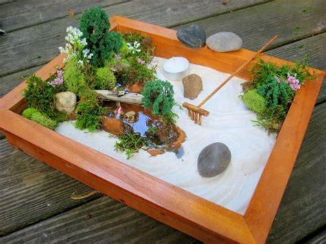 Zen Garten Miniatur by Miniature Japanese Zen Garden Mini Gardens