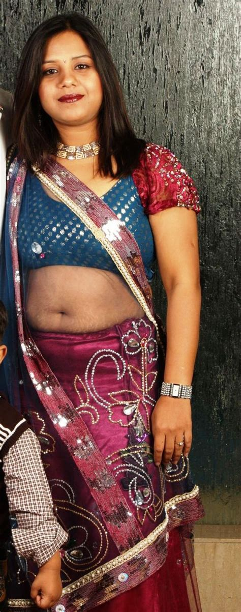 Navels Of Hot Real Life Desi Aunties In Street And Home