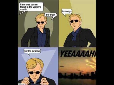 Csi Sunglasses Meme - csi miami theme song youtube