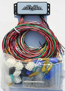 Sell Compact Electronic Wiring Harness Kit Harley 18