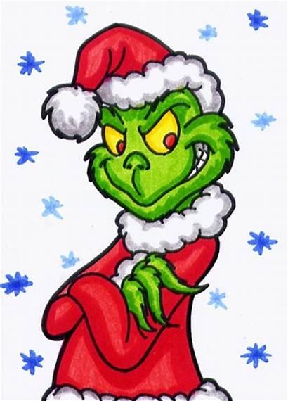 Grinch Clipart Clip Christmas Stole Cartoon Aceo
