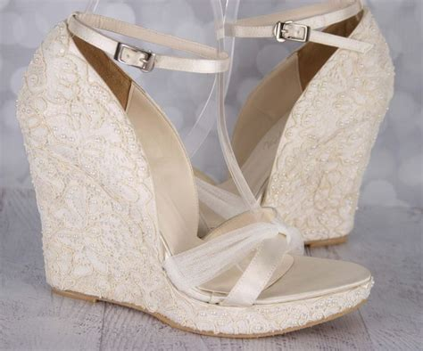 25+ Best Ideas About Wedge Wedding Shoes On Pinterest