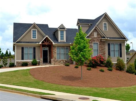 Home Plans Craftsman Style by Craftsman Style Home Exteriors Craftsman Style Ranch Home