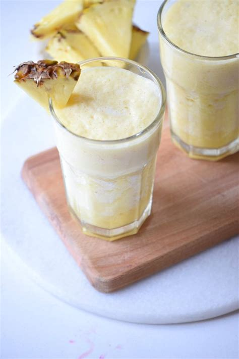 It turned out watery and relatively tasteless for a piña colada. Piña Colada Cocktail Recipe rum smoothie drink juice ...