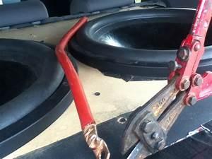 Easy Cheap Way To Crimp  U0026 Cut 0 Gauge Wire