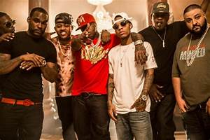 Birdman Lil Wayne Kimora Lee Simmons More On The Set Of Tap Out PHOTOS Global Grind