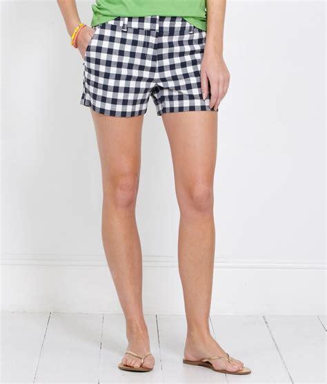 Gingham Shorts s shorts gingham dayboat shorts for