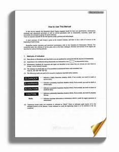 Mitsubishi S4s S6s Service Manual